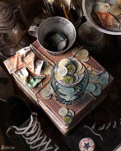 KALAT (MESS) by EUGENE CAASI | Still Life | 3D | CGSociety
