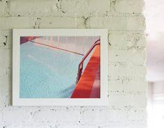 Modern Swimming Pool Art Mid Century by lucysnowephotography, $30.00