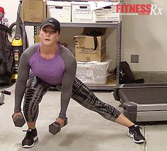 Lateral Lunge: Thigh and glute shaper. In this FIT LIFE episode, Nicole demonstrates the lateral lunge‹ a do-anywhere exercise that makes a great addition to your lower body workout. Check out the video and give it a try this week!