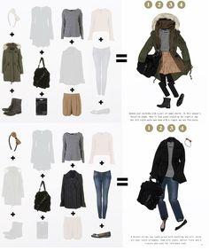Capsule wardrobe 2 (via topshop.com)