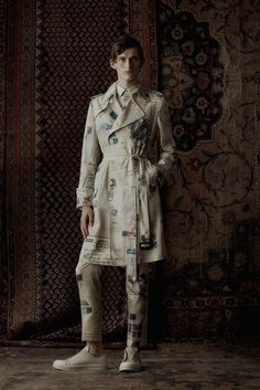Sfilata Moda Uomo Alexander McQueen Londra - Primavera Estate 2017 - Vogue