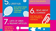12 ideas brillantes de posts para empresas #infografia #infographic #socialmedia