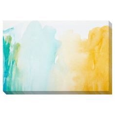 Perhaps for kitchen/dinning room wall.  Strokes of Color Oversized Gallery Wrapped Canvas