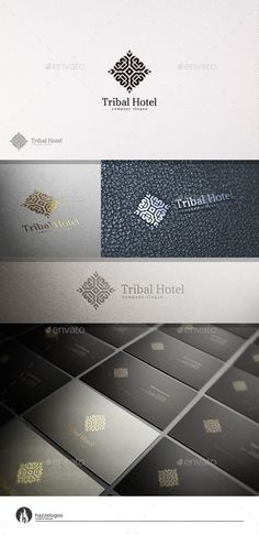 Tribal Hotel Logo Template #design #logotype Download: http://graphicriver.net/item/tribal-hotel-logo/10994085?ref=ksioks