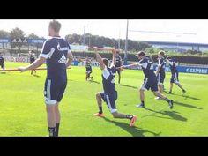 Training Schalke 04 - Fitness Übung 10.07.13 - YouTube