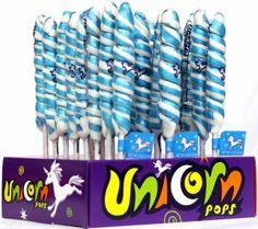 Blue & White Unicorn Pops - Blueberry  $11.99