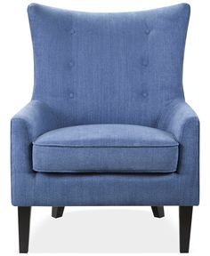 Brie Fabric Accent Chair, Quick Ship - Chairs & Recliners - Furniture - Macy's