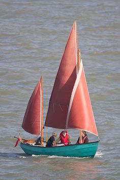Drascombe Lugger   by Colin K. Work 2010-10-10