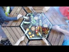 The JAG Grill - $1200! Don't think so. Can easily build a table with a weber for much cheaper.