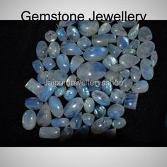 Natural Rainbow Moonstone Flashy Cabochon Lot, Mix Shape Rainbow Moonstone Loose Gemstone Lot, Moonstone Wholesale Lot Top Quality Moonstone  Natural Rainbow Moonstone Cabochon Mix Shape Rainbow Moonstone Gemstone Blue Fire Moonstone Gemstone Mix Size AAA Quality Moonstone Gemstone  Super Quality Loose Gemstones, Natural Gemstones, Gemstone Jewelry, Unique Jewelry, Any Images, Rainbow Moonstone, Shapes, Handmade Gifts, Fire