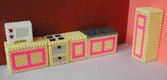house doll hama beads - Buscar con Google
