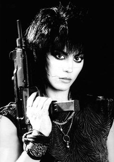 Joan Jett is one bad ass bitch. <3