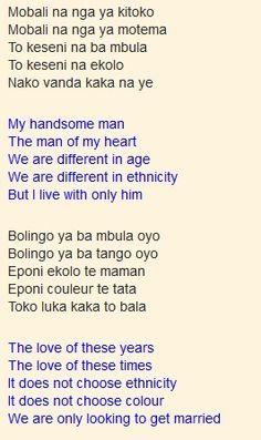 Mobali Na Ngai Wana – Mbilia Bel (Lyrics – Translation)