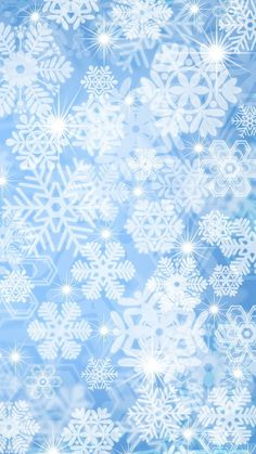 2014 Christmas snowflakes and stars iPhone 6 plus wallpaper