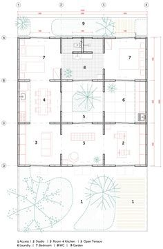 architectural material symbols in section drawing
