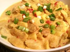Kip madras zonder pakjes Indian Food Recipes, Healthy Recipes, Ethnic Recipes, Tandoori Masala, Good Food, Yummy Food, Healthy Slow Cooker, Dutch Recipes, How To Eat Better