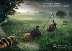 Adeevee - Mercedes-Benz Intelligent Drive Pre-Safe Brake: Bull, Horse, Bee