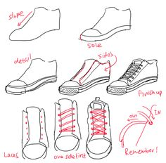 Come disegnare una scarpa drawing reference sneakers Astra colors) Drawing Techniques, Drawing Tips, Drawing Sketches, My Drawings, Sketching, Manga Drawing, Art Reference Poses, Drawing Reference, Anatomy Reference