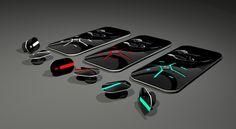 DIGIT MP3 concept by NT Design Studio, via Behance