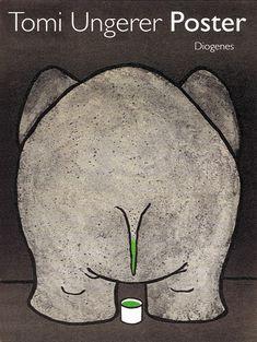 Tomi Ungerer 'Der kleine Unterschied','The Little Difference', 1979 - Poster for the Robert Pütz advertising agency © Musées de Strasbourg / Tomi Ungerer Bild: Martin Bernhart.