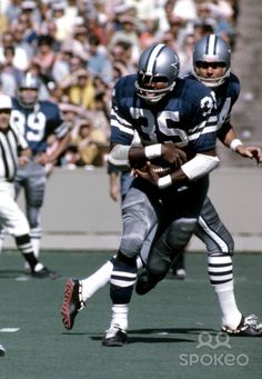 Calvin Hill from Oct 4, 1970. Dallas Cowboys