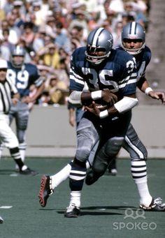 Calvin Hill from Oct 4, 1970. Dallas Cowboys