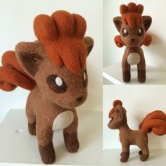 Wool-Alchemist has needle-felted some superb Pokemon. Here are her cubone, vulpix, jirachi, and mudkip: Here is a tutorial to make your own Mudkip! Check out her DeviantArt gallery to see more.