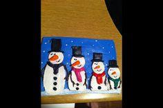 Christmas Salt Dough Plaque
