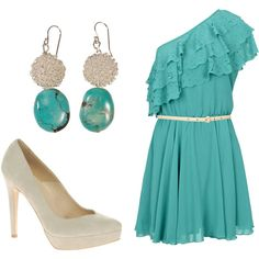 """Turquoise."" by christinamarie0824 on Polyvore"