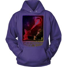 Alien Dream - Hoodie Quote reads: I dreamt I awoke in and alien landscape where…