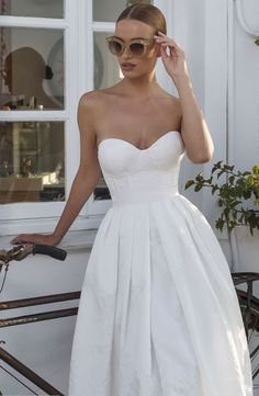 Modern chic Julie Vino wedding dresses