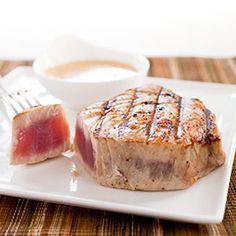 Tuna steak love.