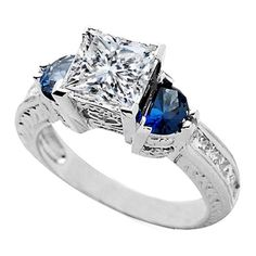 Solitaire Engagement Rings Princess 54
