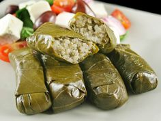 Stuffed Grape Leaves Recipe is delicious, tasteful and yammi dish. Stuffed Grape Leaves Recipe can be made in less than few minutes with the help Grape Leaves Recipe, Stuffed Grape Leaves, Armenian Recipes, Armenian Food, Egyptian Food, Good Food, Yummy Food, Savarin, Eastern Cuisine