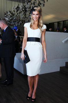 Jennifer Hawkins on Derby Day
