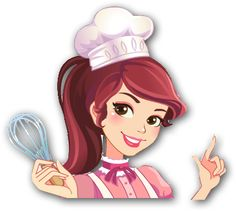 Baking Logo Design, Cake Logo Design, Cartoon Chef, Girl Cartoon, Baking Wallpaper, Cupcake Quotes, Chef Logo, Cupcake Logo, Bakery Business Cards