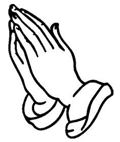 praying hands decal sticker clipart best clipart best print rh pinterest com clip art praying hands and bible clip art praying hands free
