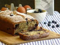 This tasty Blueberry Banana Bread recipe is a delicious way to use up produce that ripens too quickly in these warm summer months. #NourishEveryBody bit.ly/1e1IqXp