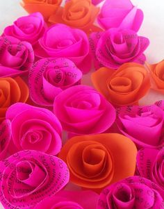 fuchsia and orange - Google Search