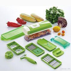 Kitchen,dining & Bar Onion Vegetable Cutter Slicer Multi Chopper Sharp Scallion Kitchen Knife Shred Tools Slice Cutlery Skilful Manufacture