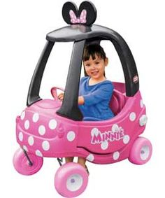 Little Tikes Minnie Mouse Cozy Coupe.