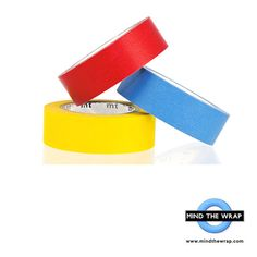 3 rolls mt Primary Colors Japanese Washi Tape Set - 15mm x 10m each - Red Blue Yellow
