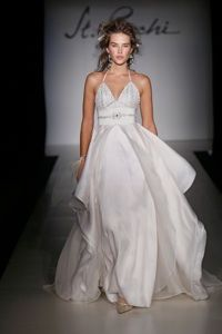 Bridal Gowns and Wedding Dresses by St. Pucchi. This dress is currently available at the West Hollywood salon. Style #538