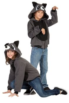 Child's Rocky the Raccoon Costume Hoodie                                                                                                                                                     More