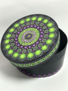 A personal favorite from my Etsy shop https://www.etsy.com/listing/559984999/original-mandala-painting-on-round-box