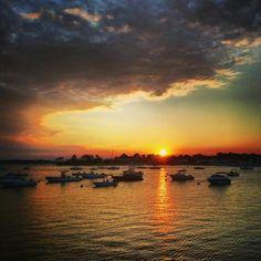 Sunset. Port Washington, NY