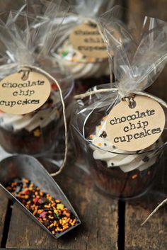 Como embalar cupcakes para decoração ou presente