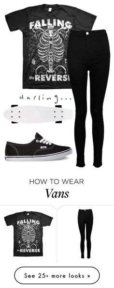 """""""Untitled #828"""" by xxghostlygracexx on Polyvore featuring Boohoo and Vans"""