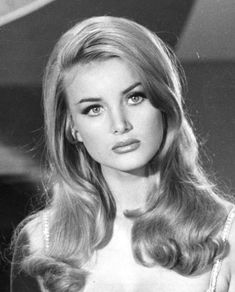 Vintage Glamour, Vintage Beauty, Vintage Makeup, Vintage Models, Vintage Pins, Timeless Beauty, Classic Beauty, Cover Shoot, Barbara Bouchet