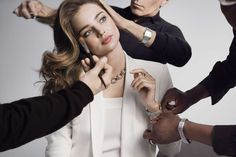 a0b5f69c594 Miranda Kerr continues her association with Swarovski and features for the  Fall/Winter 2015 Campaign.
